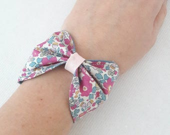 To order * Liberty bow cuff bracelet