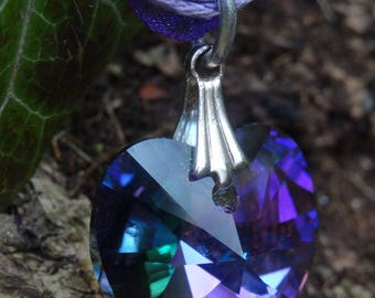 Crystal Paradise Shine swarovski crystal heart pendant