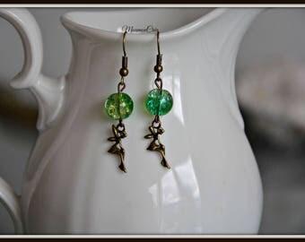 Earrings fairy.