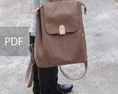 Simple Day Casual Backpack - Bag PDF Sewing Pattern - with Sewing Tutorials by niizo (no supplies)