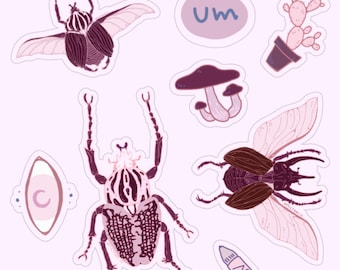 Buggin Out of Stickers