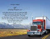 Custom Trucker's Prayer
