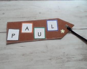 PAUL paper bookmark