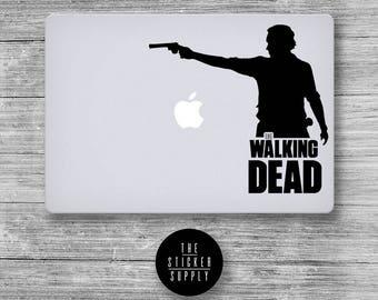 The Walking Dead - Zombie - Macbook Vinyl Sticker Decal