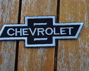 embroidered patch chevrolet