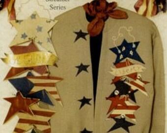 Applique Shirt PATTERN - Star Struck - KS 213