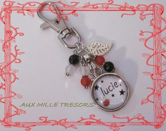 bag personalized name jewelry