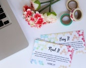 31 Day Set of the Read It Pray it cards for the Ephesians Bible Study with Sarah Koontz