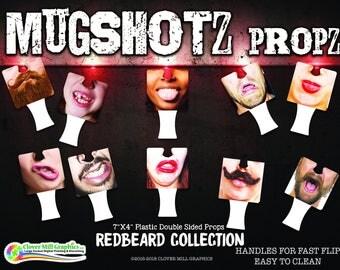 MUGSHOTZ FACE PROPZ Photo Props