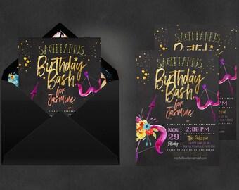 Zodiac Invitation Sagittarius   Astrology Invite, Printable Invitations, Invitation Printing, Birthday Sagittarius, Zodiac Sagittarius