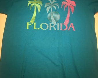 Awesome Vintage 1986 Florida T Shirt