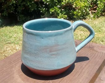 Teal Angular Mug