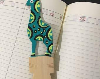 Alebrije Bookmark ~ handmade ~ painted ~ book dividers painted