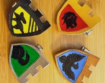 hogwarts hair clip (single)