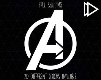 The Avengers Logo Decal