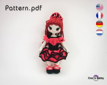 Pattern - Fanny & her Flamenco Outfit