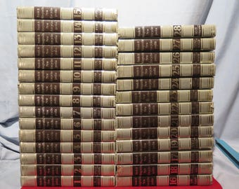 Funk & Wagnalls New Encyclopedia - 28 Vol Set 1973