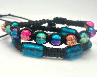 Multicolor Beaded Bracelet Set
