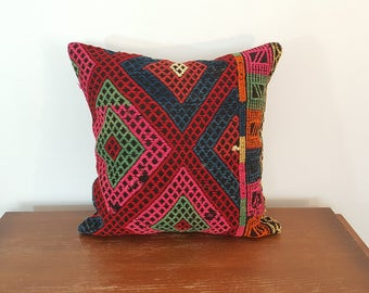 Colorful Gypsy style Kilim Pillow Covers