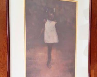 80s Limited Edition Original - Barefoot Dreams by Artist, Brenda Joysmith