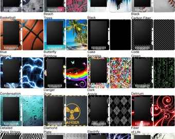 Choose Any 1 Vinyl Decal/Sticker/Skin Design for the Amazon Kindle DX