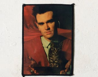 Morrissey The Smiths vintage 1980s Glossy PHOTOPATCH