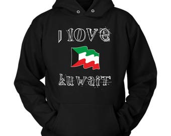 Kuwait hoodie. Cute and funny gift idea
