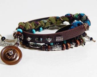 Adventurer style wrap bracelet