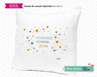 Pillow cover - cozy pillow
