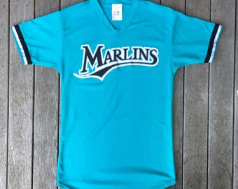 6375dee44 coupon for vintage 90s mlb florida marlins american baseball unisex small  majestic jersey retro hip hop
