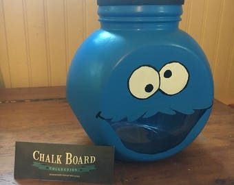 Cookie Monster Cookie Jar