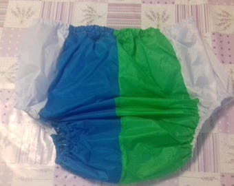 Adult Baby waterproof Noisy PU coated nylon  pants/nappy covers