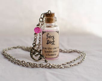 FAIRY DUST - Mini potion pendant.