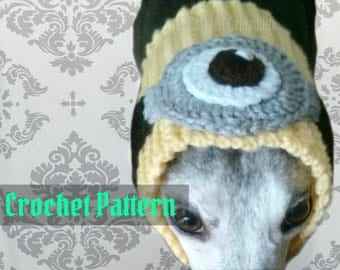 Minion Snood for Greyhounds Crochet Pattern (PATTERN ONLY!)