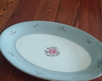 "Seyei Fine China Bella Maria 12"" Serving Platter"