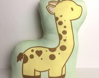 Giraffe Plush Cushion