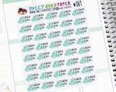 Cardio Planner Stickers - Fitness Planner Stickers - Gym Planner Stickers - Kawaii Planner Stickers - Treadmill Stats Stickers - 069