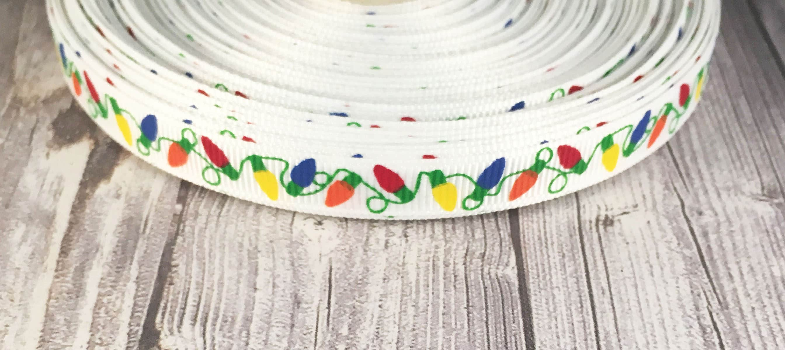 Christmas light ribbon 38 christmas ribbon christmas crafts 285 shipping solutioingenieria Image collections