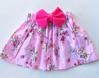 Pretty floral skirt