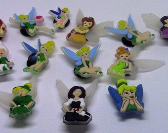 Fairy Shoe Charms