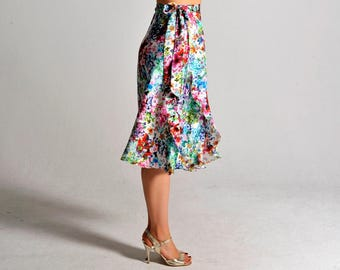 NEW** COCO flower bouquet flow skirt - sizes XS/S/M