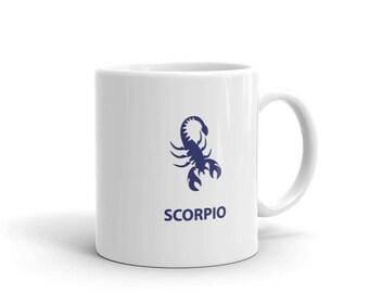 Scorpio Zodiac Mug made in the USA