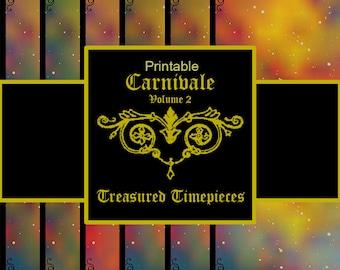 Carnivale Volume 2 Digital Printable Paper (CMYK)