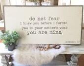 Jeremiah 1:5 2'x4&#39...