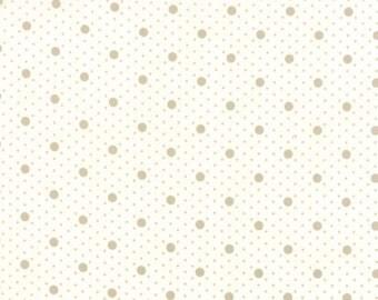 Moda MISS SCARLET Quilt Fabric 1/2 Yard By Minick & Simpson - Tonal Ivory 14814 21