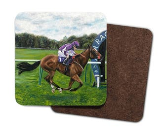 Gift for horse lover etsy horse coasters gift for horse lover horse drink coasters gift for horse lovers negle Image collections