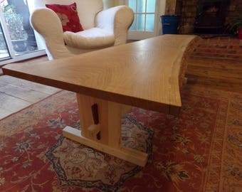 Sweet chestnut coffee table