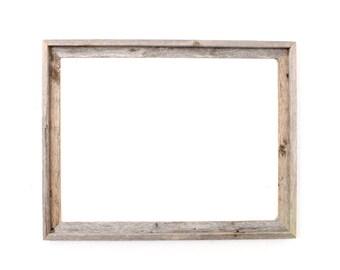 BarnwoodUSA | Farmhouse Dry Erase Board With Signature Reclaimed Wood Frame