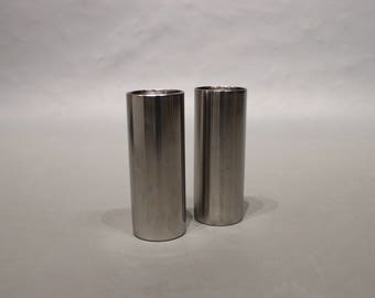 Salt and peber shakers  designed by Arne Jacobsen for Stelton.