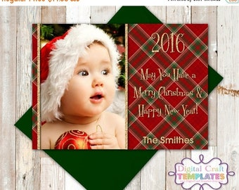 SALE Christmas Greeting Card, Photo Card, Printable, Personalized Greeting Card,  #415